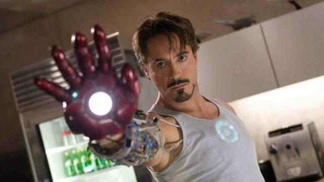 Robert Downey Jr in 'Iron Man'