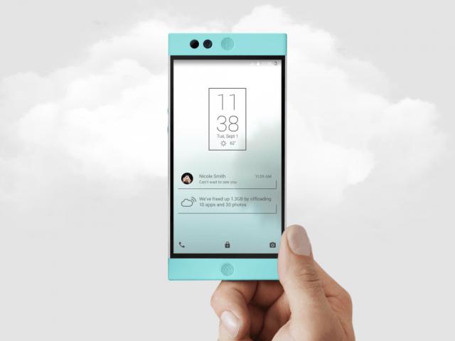 Robin cloud-first smartphone Kickstarter campaign