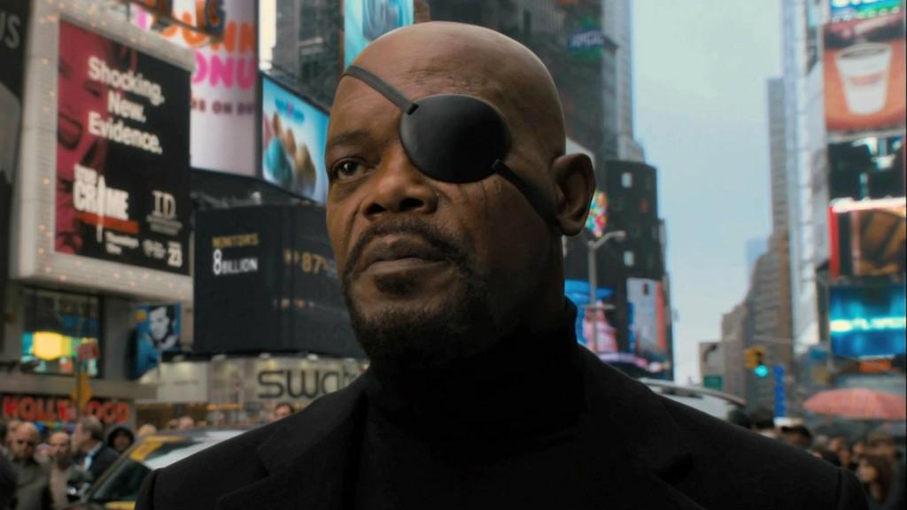 Samuel L Jackson in 'Captain America: The First Avenger'