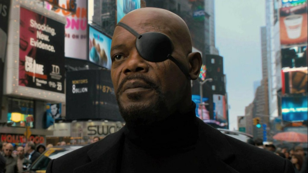 Samuel L Jackson in 'Captain America: The First Avenger'