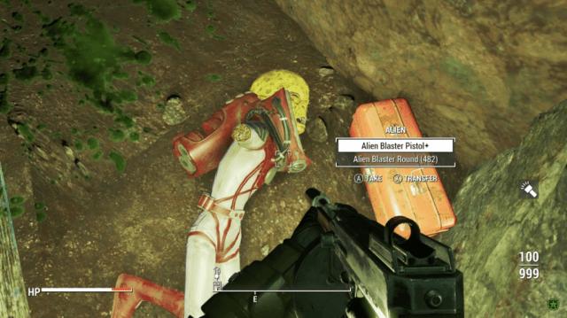 Fallout 4 alien