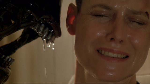 Sigourney Weaver in 'Alien3'