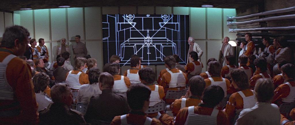 Star Wars - Death Star plans