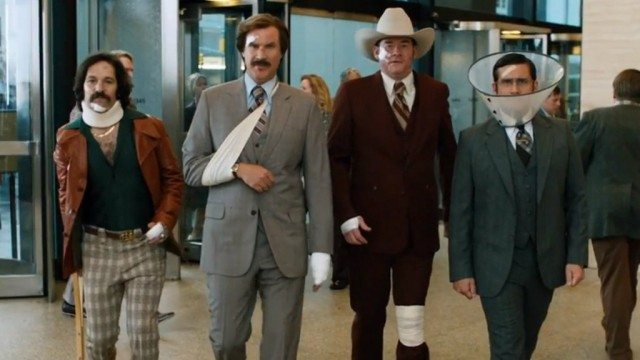 The cast of 'Anchorman 2: The Legend Continues'