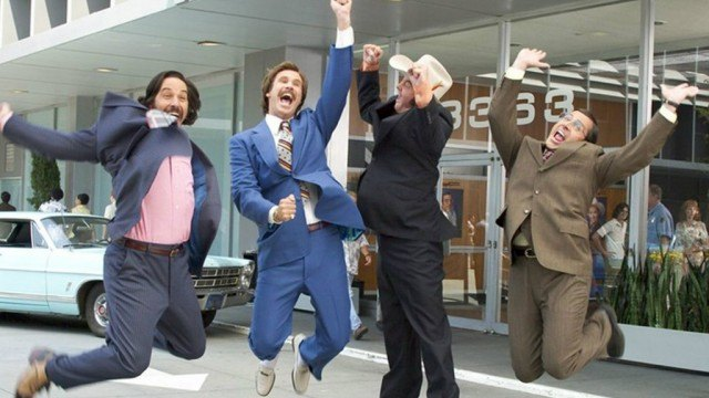 The cast of 'Anchorman: The Legend of Ron Burgundy'