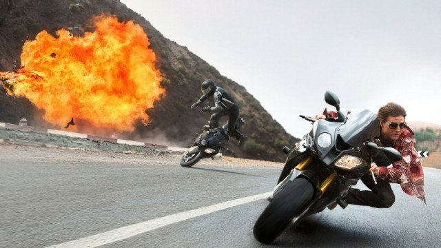 Tom Cruise in 'Mission: Impossible - Rogue Nation'