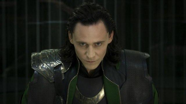Tom Hiddleston in 'The Avengers'
