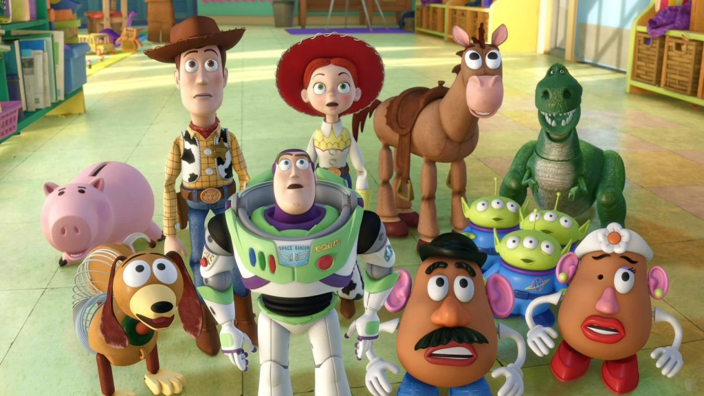 characters from toy story