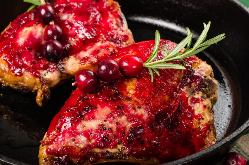 chicken with cranberries