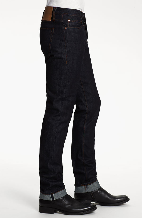 Unbranded Brand skinny-fit raw selvedge jeans