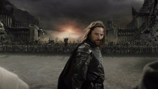 Viggo Mortensen in 'The Lord of the Rings: The Return of the King'