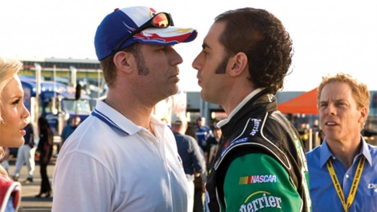 Will Ferrell and Sacha Baron Cohen in 'Talladega Nights: The Ballad of Ricky Bobby'