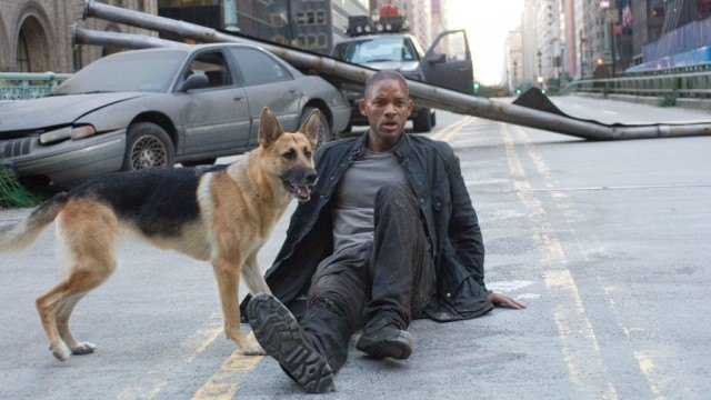 Will Smith in 'I Am Legend'