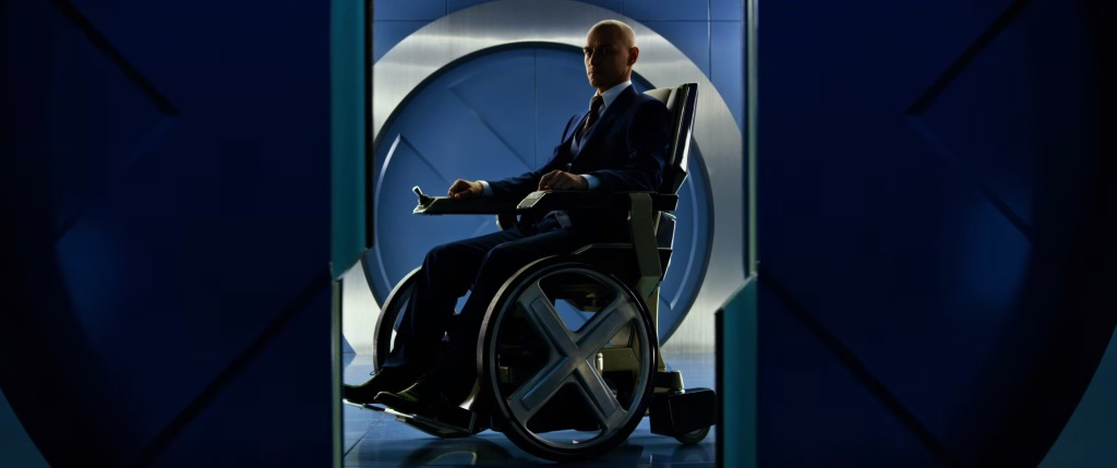 Charles Xavier (James McAvoy).