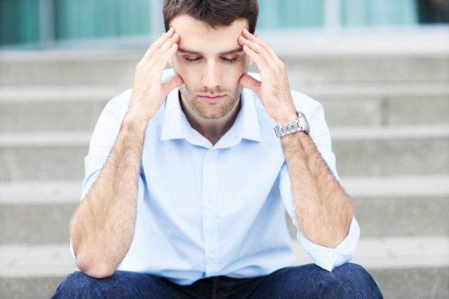 Man thinking as he sits   Source: iStock