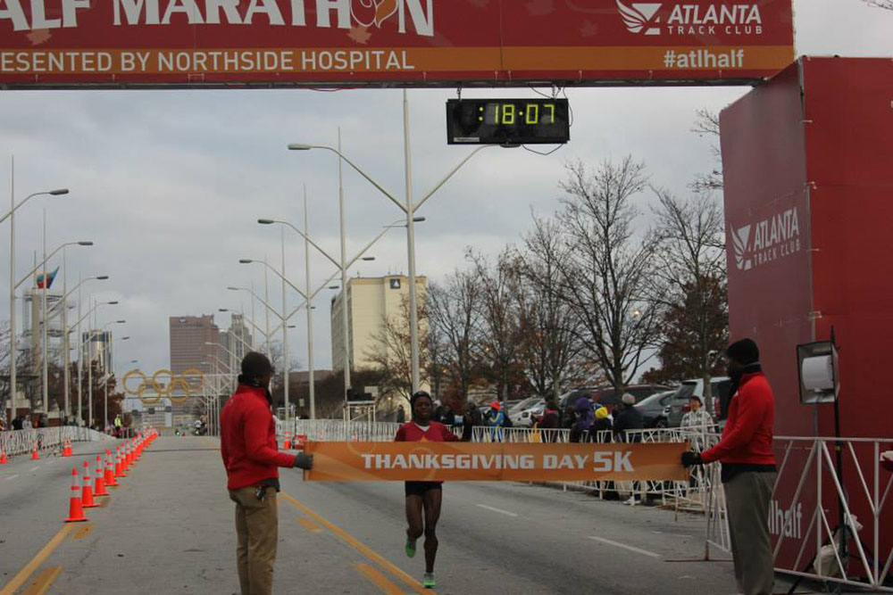 Atlanta Thanksgiving half Marathon