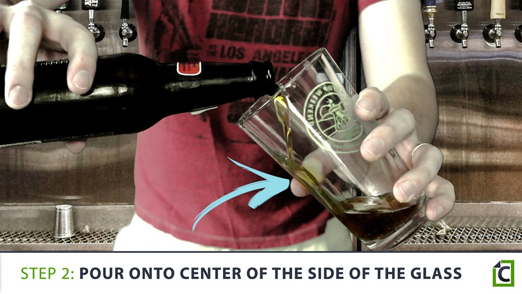 how to pour the perfect beer 2