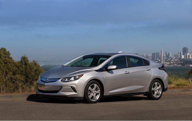 Chevy Volt 2016 electric vehicle sales