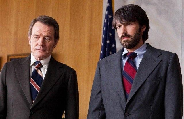 Bryan Cranston and Ben Affleck in 'Argo'