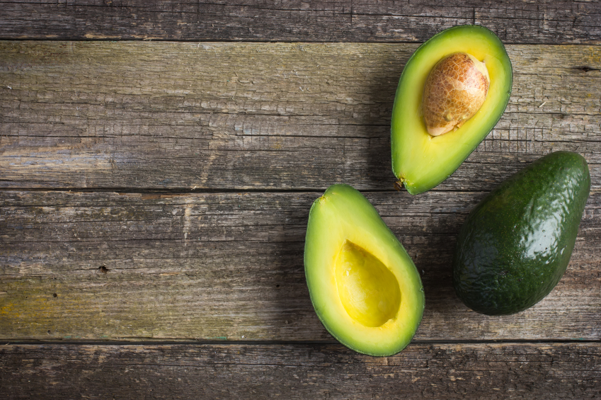 avocados on a table