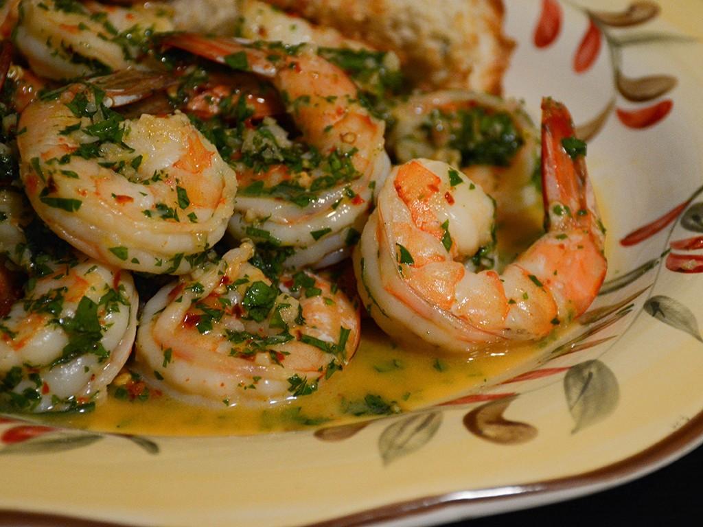Spicy Garlic Shrimp 2
