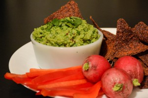 Try This Healthy 5-Minute Snack Recipe: Green Pea Guacamole