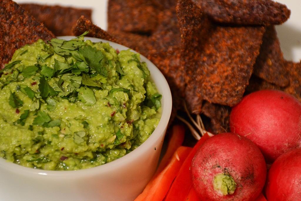 Green Pea Guacamole 2