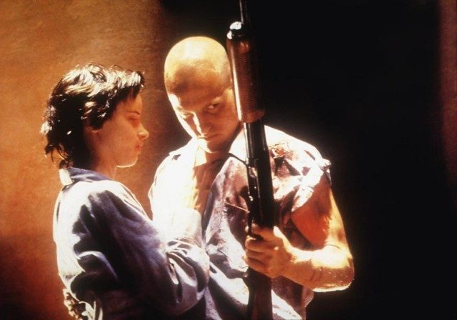 Juliette Lewis and Woody Harrelson in 'Natural Born Killers'