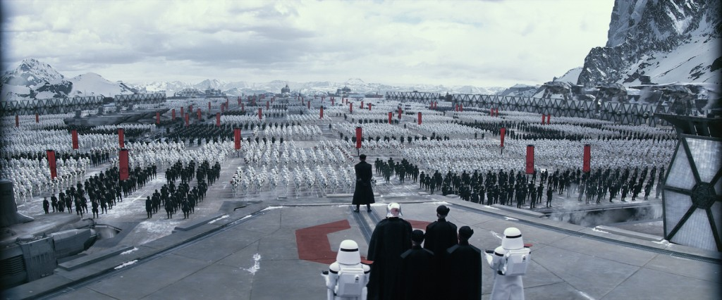 The First Order in THe Force Awakens   Source: Lucasfilm