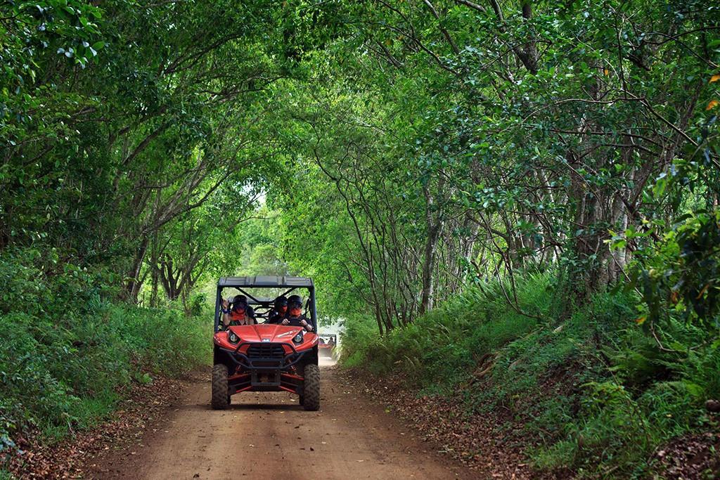 Kauai, Hawaii, ATV