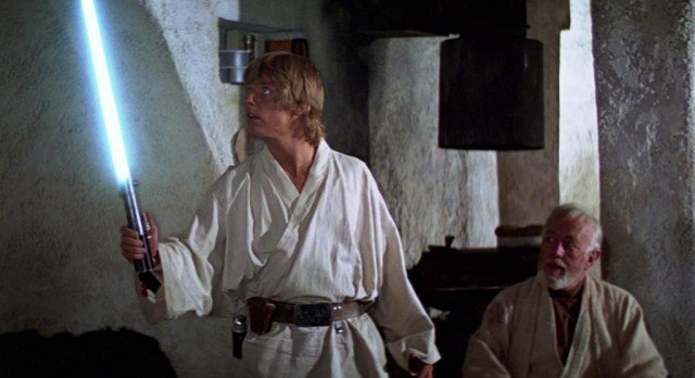 Luke Skywalker and Obi Wan Kenobi - Star Wars