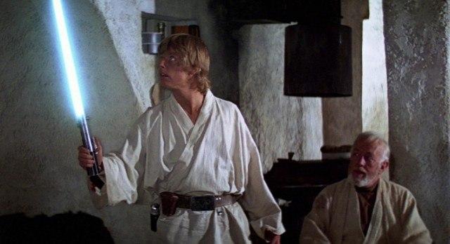 Luke Skywalker and Obi Wan Kenobi - Star Wars
