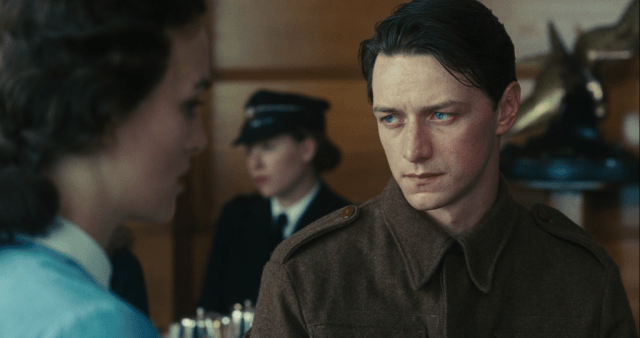 Kiera Knightley and James McAvoy in 'Atonement'