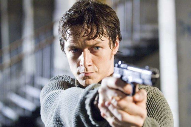 James McAvoy in 'Wanted'