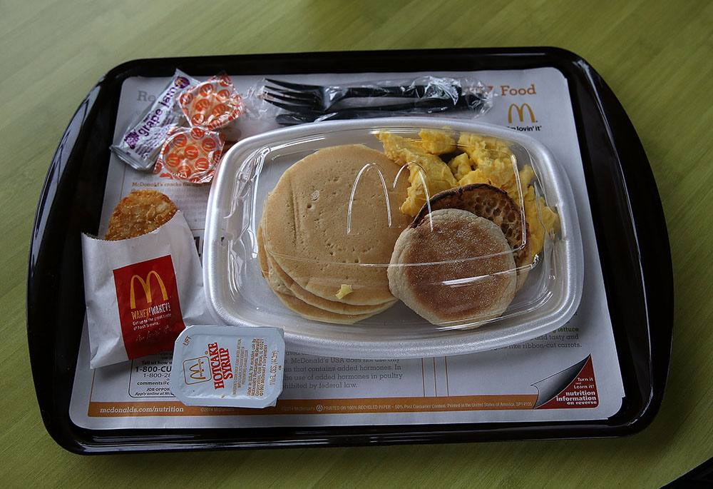 McDonald's breakfast