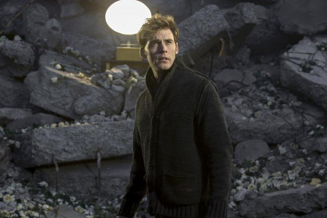 Sam Claflin as Finnick Odair in 'The Hunger Games: Mockingjay - Part 1'