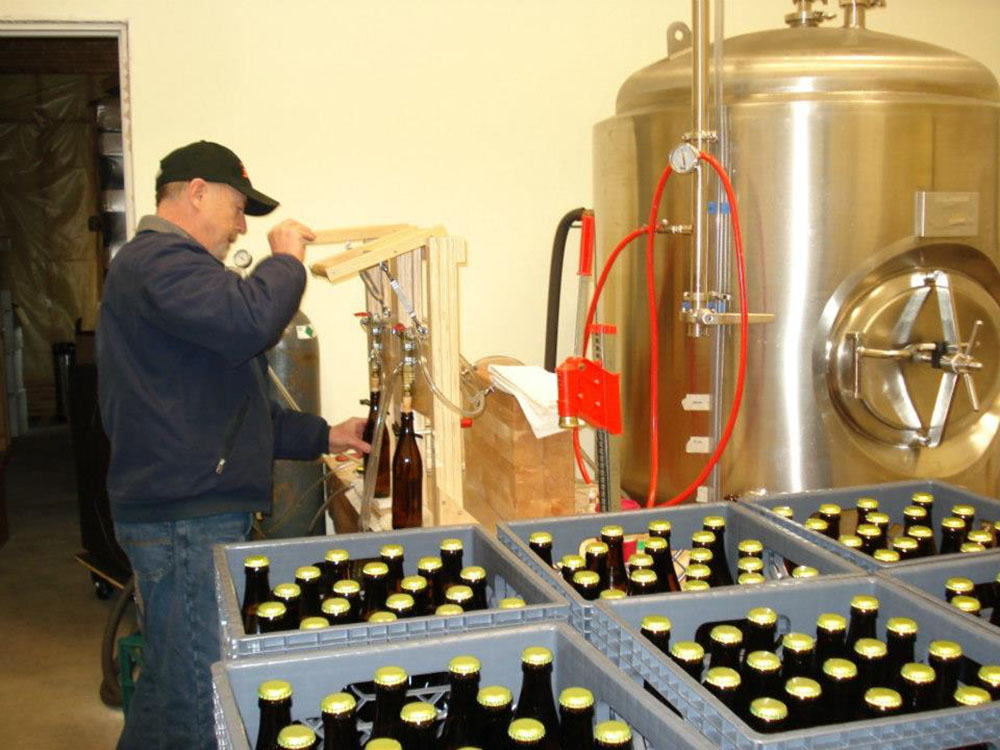 Brewery workers