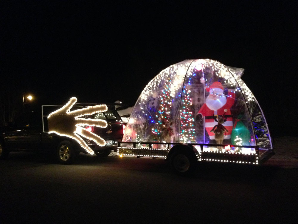 Electric Parade in Park City, Utah