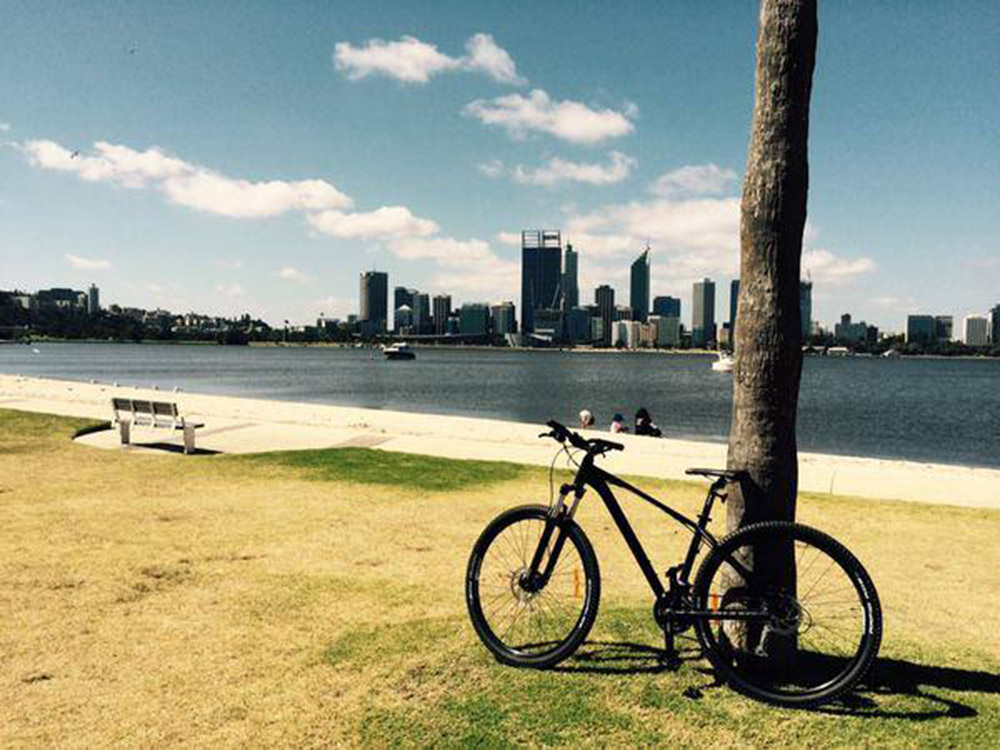 Biking, Perth, Australia