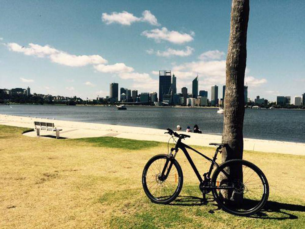 Biking, Perth, Australia