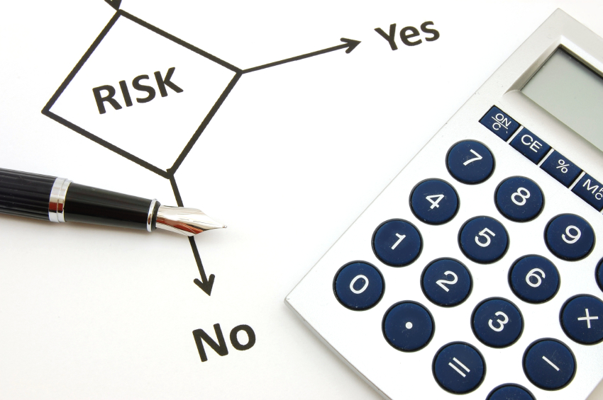 A risk assessment chart