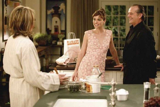 Amanda Peet, Jack Nicholson, and Diane Keaton star in Something's Gotta Give