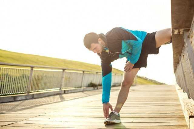 Stretching after a workout is an important habit to get into