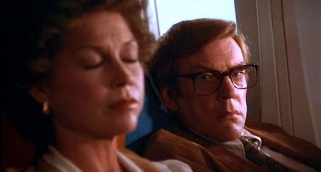 Mary Tyler Moore and Donald Sutherland in 'Ordinary People'