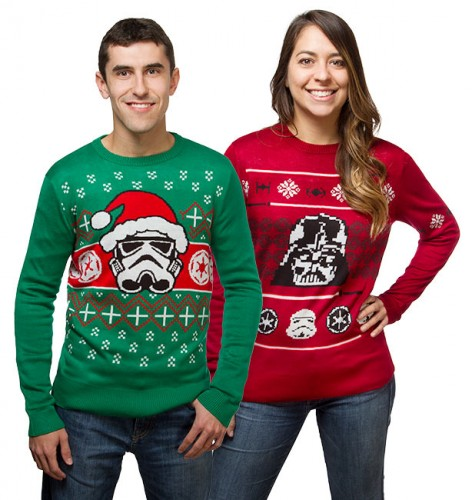 Star Wars Ugly Christmas Sweaters - Think Geek