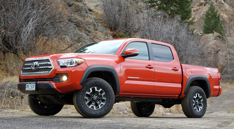 2016 toyota tacoma trd review the swiss army knife of trucks. Black Bedroom Furniture Sets. Home Design Ideas