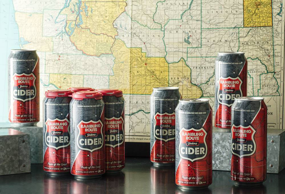 Tieton Cider Works Rambling Route