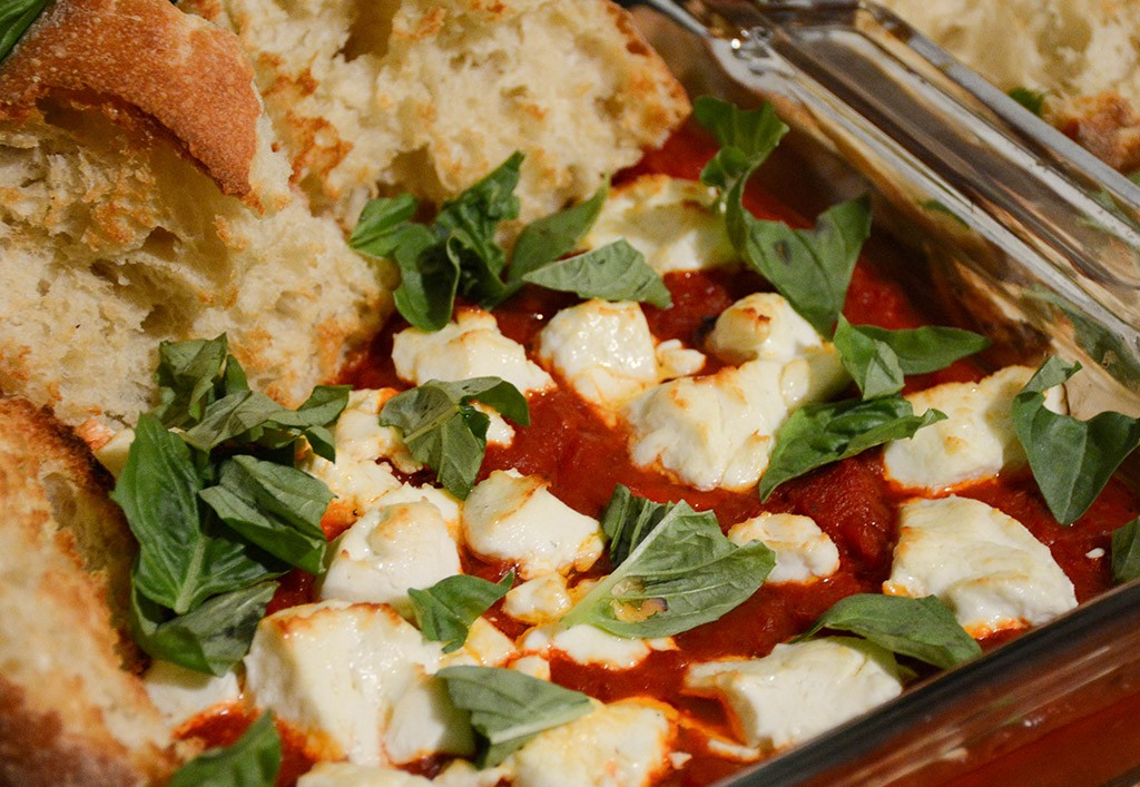 Tomatoes and Peppers with Goat Cheese 1