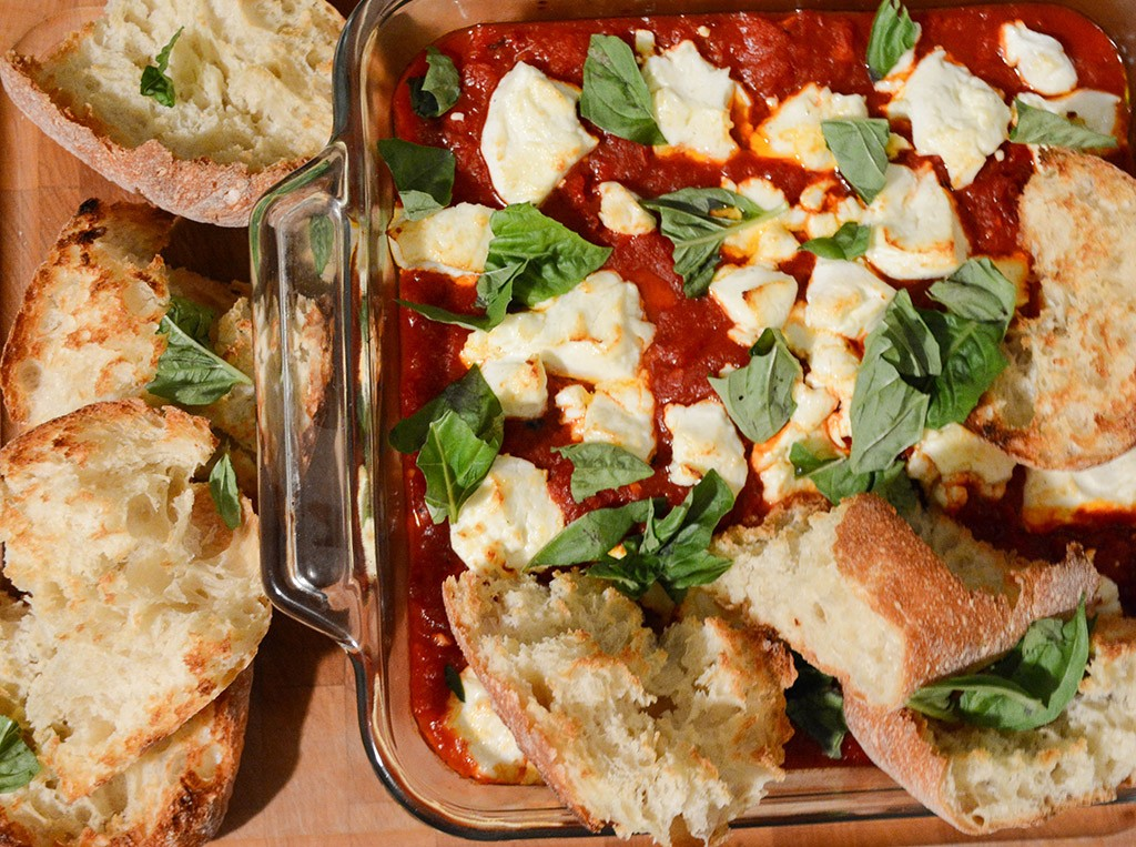 Tomatoes and Peppers with Goat Cheese 2