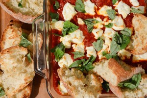 Try This 20-Minute Recipe: Tomatoes and Peppers with Goat Cheese